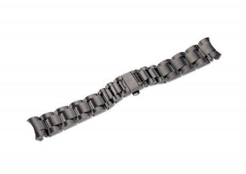 Swiss Army 23mm Chrono Classic Gunmetal Stainless Steel Watch Bracelet
