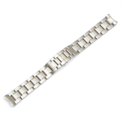 Swiss Army 16mm Ladies Officer's DualTone Watch Bracelet