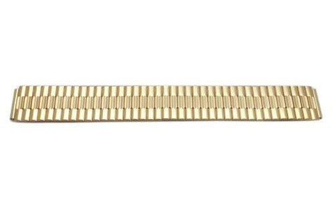 Pulsar Gold Tone Stainless Steel Elastic 16mm Watch Bracelet