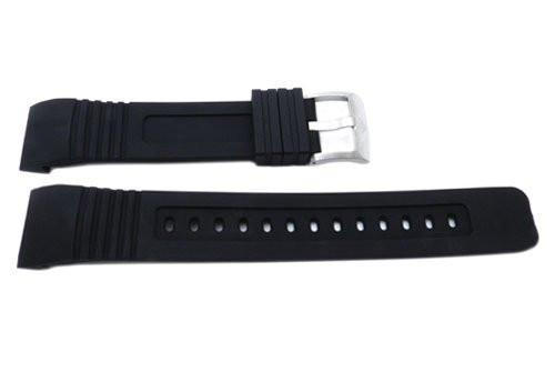 Citizen Black Rubber Promaster 20mm Watch Strap