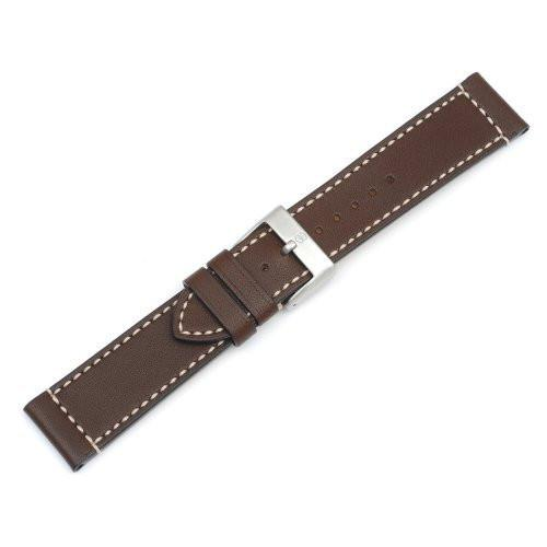 Swiss Army Brown Leather AirBoss Watch Band