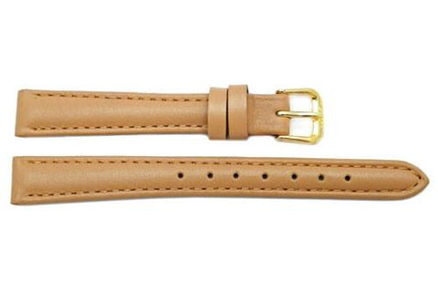 Ladies Classic Genuine Soft Calfskin Remborde Constructed Watch Strap
