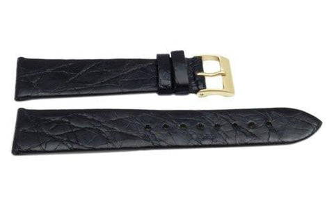 Genuine Crocodile Gloss Finish Watch Strap