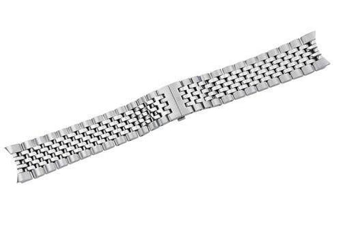 Genuine Swiss Army Ambassador Satin/Polish Stainless Steel Bracelet