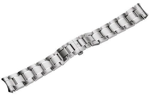 Genuine Swiss Army Officer's XS Brushed/Polished Steel Bracelet