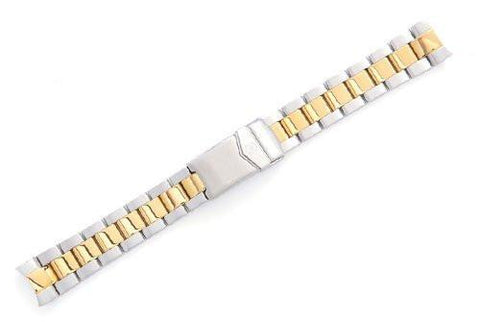 Genuine Swiss Army Dual Tone Steel Bracelet