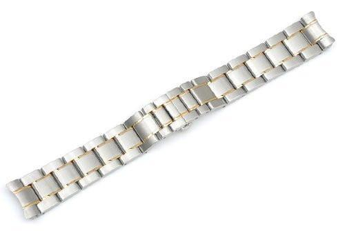 Genuine Swiss Army Two-Tone 20mm Bracelet for Officer's 125