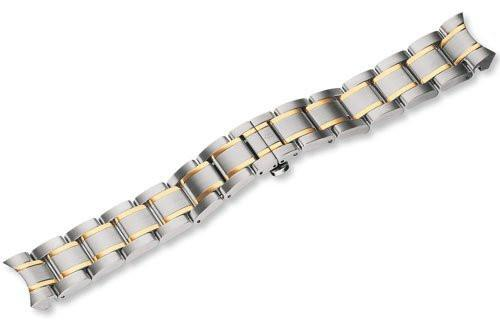 Genuine Swiss Army Alliance Small Width Two-Tone Stainless Steel Bracelet