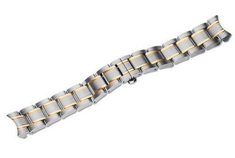 Genuine Swiss Army Alliance Large Two-Tone Stainless Bracelet