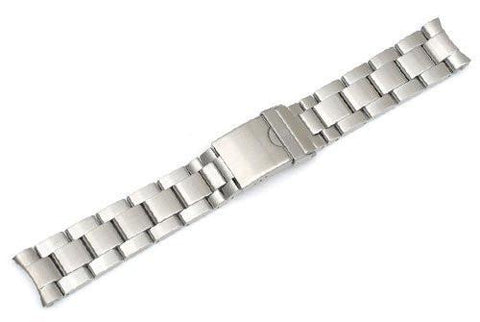 Genuine Swiss Army Maveric GS Silver Stainless Steel Bracelet