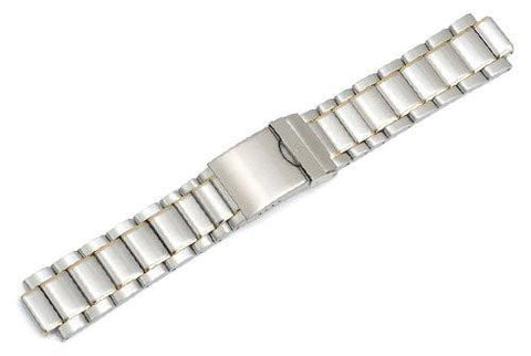 Genuine Swiss Army Large Two-Tone Bracelet