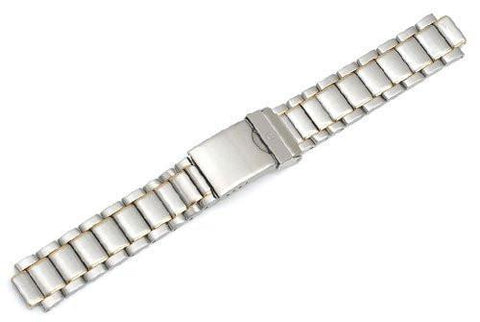 Genuine Swiss Army Small Two-Tone Bracelet