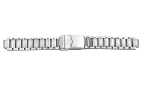Swiss Army Base Camp Silver Tone Stainless Steel 10.5mm Watch Bracelet