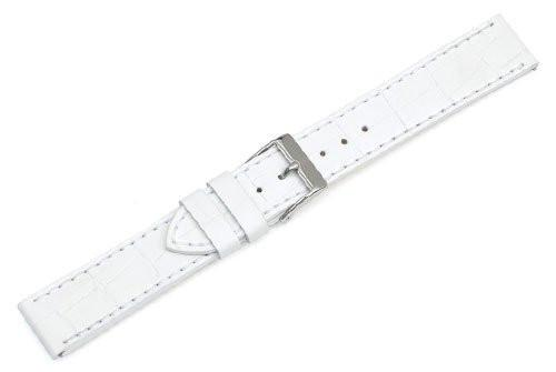 Genuine Swiss Army Alliance Chronograph Small White Leather Strap