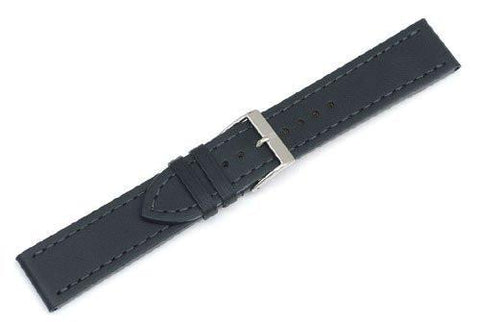 Genuine Swiss Army Alliance Large Anthracite Leather Strap