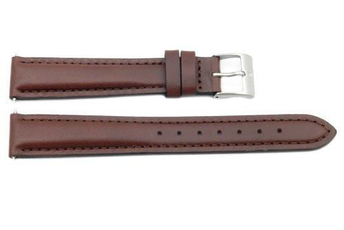 Genuine Swiss Army Field Brown Smooth Leather 16mm Watch Strap