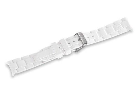 Genuine Swiss Army Maverick Small White Rubber Strap