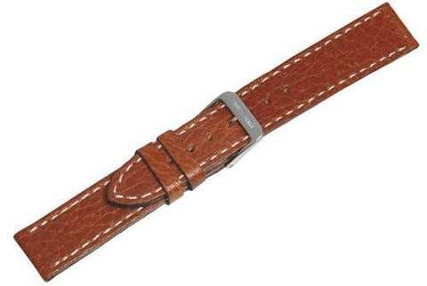 Genuine Swiss Army Mid-Size Brown Leather Strap