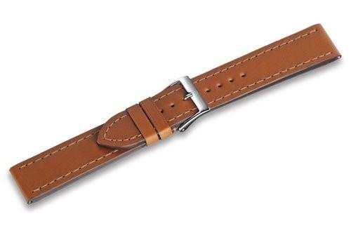 Genuine Swiss Army Alliance Large 20mm Tan Leather Strap