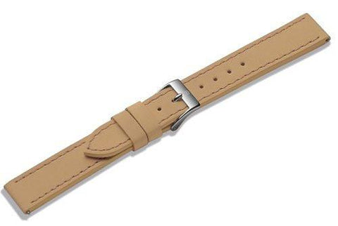 Genuine Swiss Army Alliance Small 15mm Tan Leather Strap