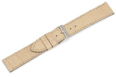 Genuine Swiss Army Alliance Small Tan Leather Strap