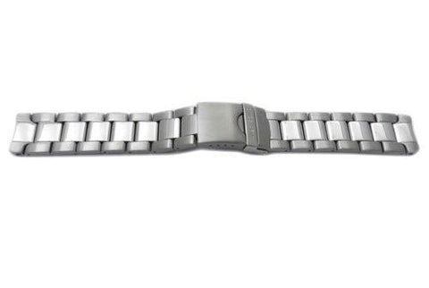 Genuine Swiss Army Officer Series Satin Polished 19mm Stainless Steel Bracelet