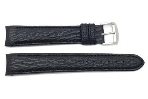 Genuine Citizen Sailhawk Black Sharkskin Long 20mm Watch Band