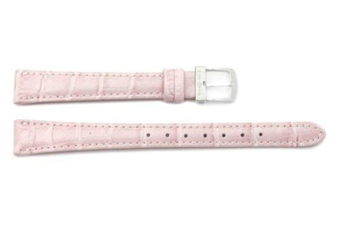 Citizen Eco-Drive Pink Leather Alligator Grain 13mm Thin Ladies Watch Strap