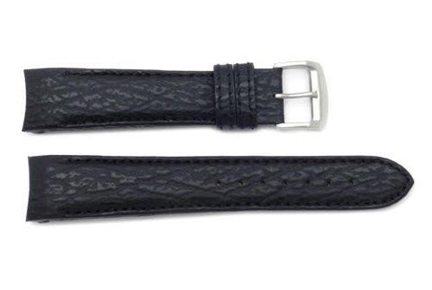 Genuine Citizen Eco-Drive Sailhawk Black Sharkskin 20mm Watch Strap