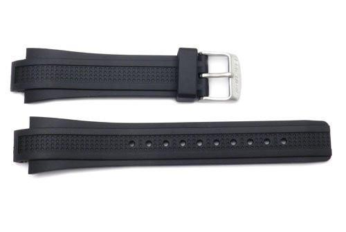 Citizen Black Rubber Eco Drive 24mm Watch Strap