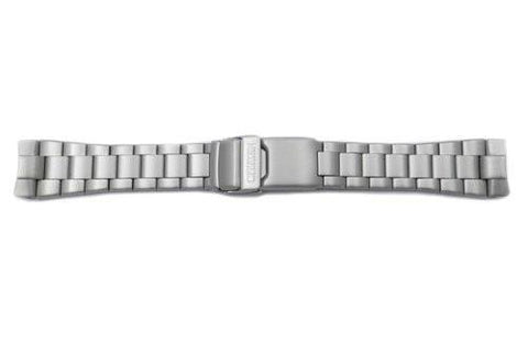 Citizen Eco-Drive Fold-Over Push Button Clasp Titanium 22mm Watch Bracelet