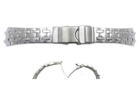 Citizen 25mm Silver Tone Watch Bracelet