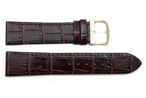 Citizen 20mm Brown Alligator Grain Watch Strap