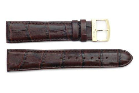 Citizen 20mm Eco-Drive Brown Alligator Grain Watch Strap