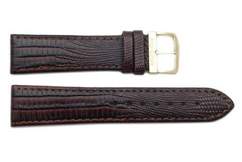 Citizen 20mm Eco-Drive Brown Lizard Grain Watch Strap