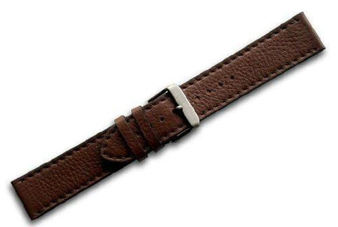 Genuine Swiss Army Brown Leather Strap For Chrono Classic