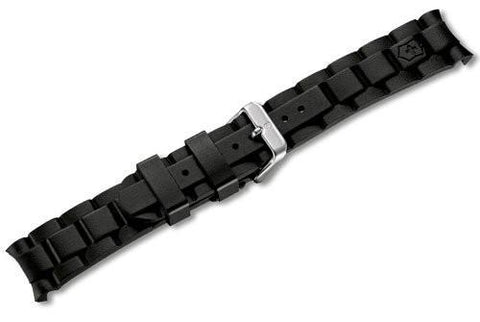 Genuine Swiss Army Black Rubber Strap 22mm for Maverick Chrono