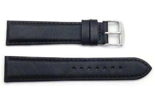 ZRC Genuine Nautical Calfskin Leather Waterproof Anti-Allergic Watch Band