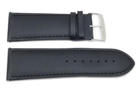 Genuine Smooth Leather Extra Wide 30mm Watch Strap
