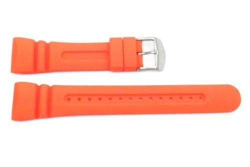 Citizen Orange Rubber Promaster 26mm Watch Strap