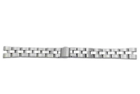 Kenneth Cole Silver Tone Stainless Steel 14mm Watch Bracelet
