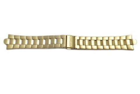 Genuine Citizen Gold Tone 22mm Eco-Drive Corso Watch Bracelet