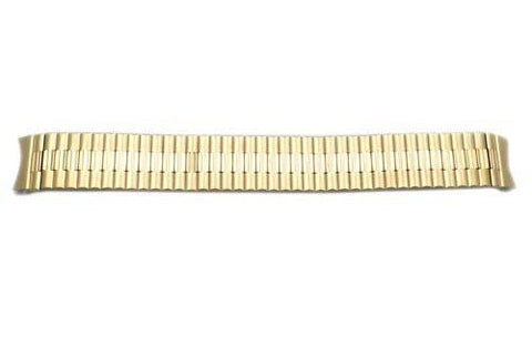 Seiko Gold Tone Stainless Steel 18mm Expansion Watch Bracelet
