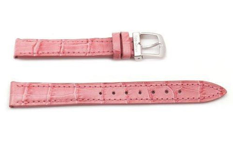 Citizen Eco-Drive Pink Leather Alligator Grain 14mm Thin Ladies Watch Strap
