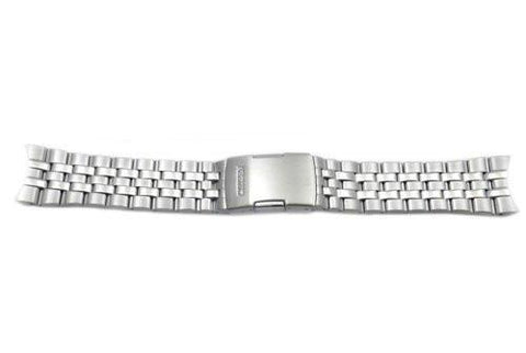 Citizen Silver Tone Stainless Steel Push Button Clasp 23mm Watch Bracelet