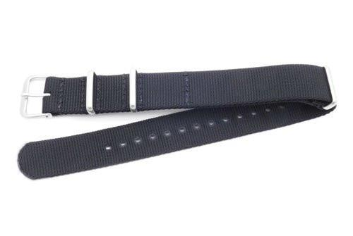 Hadley Roma One Piece Waterproof Nylon 290mm Long Watch Strap