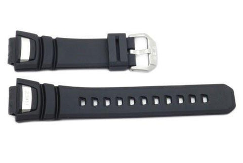 Genuine Casio G-Shock Black Resin 21.5/16mm Watch Strap
