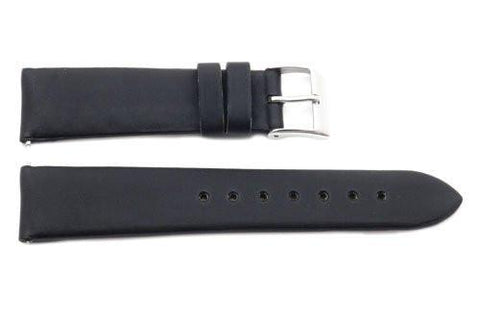 Genuine Leather Handmade Satin Finish Quick Release 18mm Watch Strap