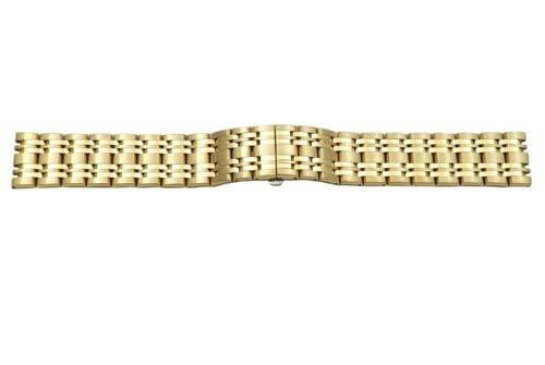 Genuine Citizen Gold Tone Stainless Steel Butterfly Clasp 20mm Watch Bracelet