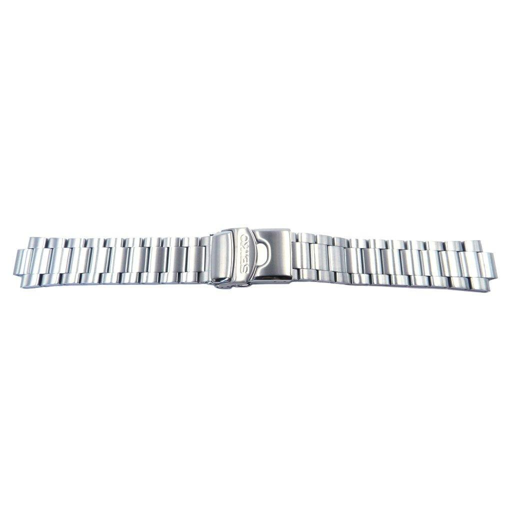 Genuine Seiko Stainless Steel Brushed Finish 20mm Watch Bracelet